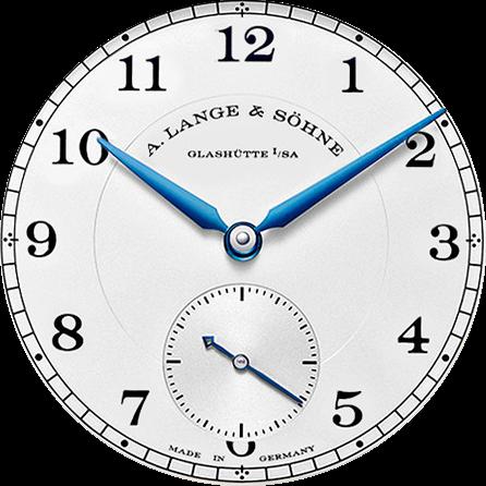 A Lange Sohne Lange 1815 dial details