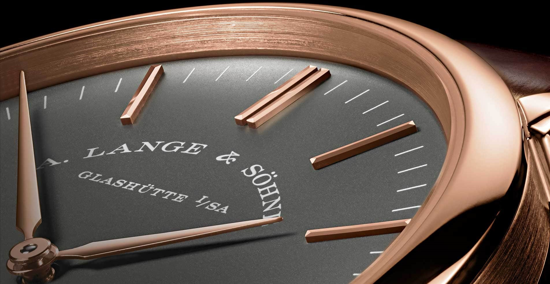 A Lange söhne saxonia pink gold grey dial boutique special edition 216.033 review