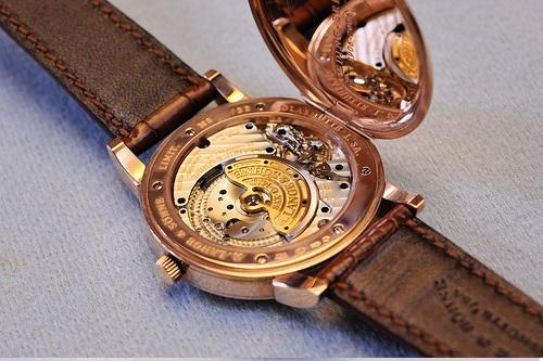 a lange sohne 1815 cuvette oeding erdel special edition pink gold 323.047 hinged caseback