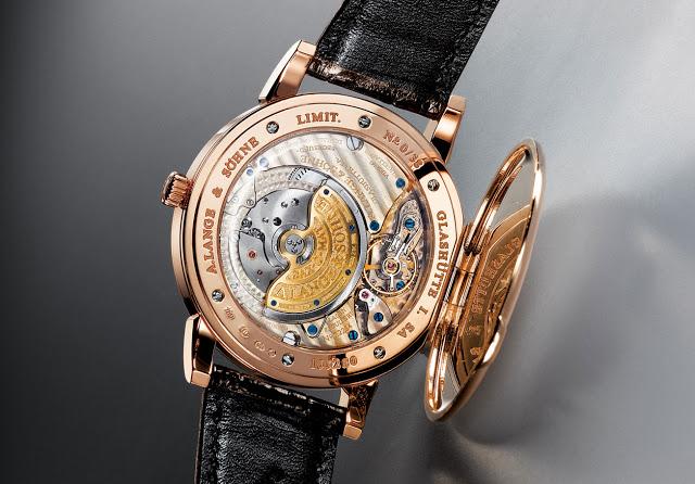 a lange sohne 1815 cuvette oeding erdel special edition pink gold 323.047 caliber l921.2