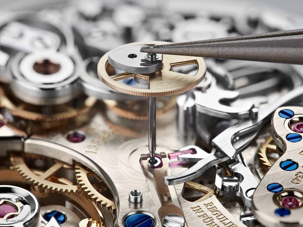 Caliber L951.1 chronograph assembly