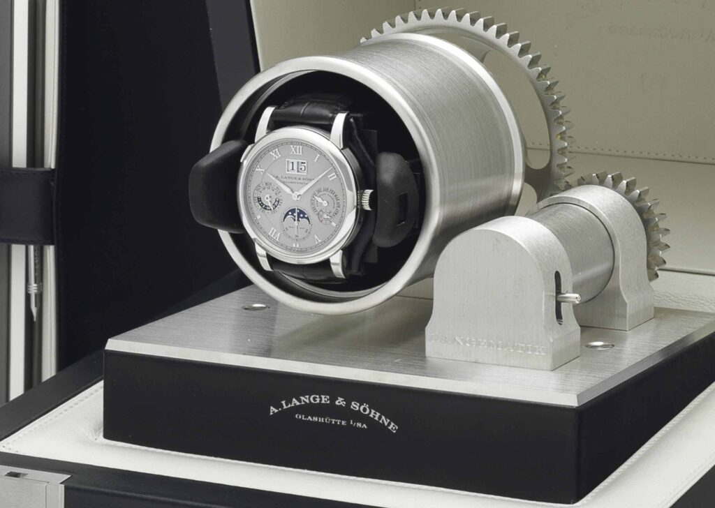 a lange söhne langematik perpetual platinum 310.025 full set winder