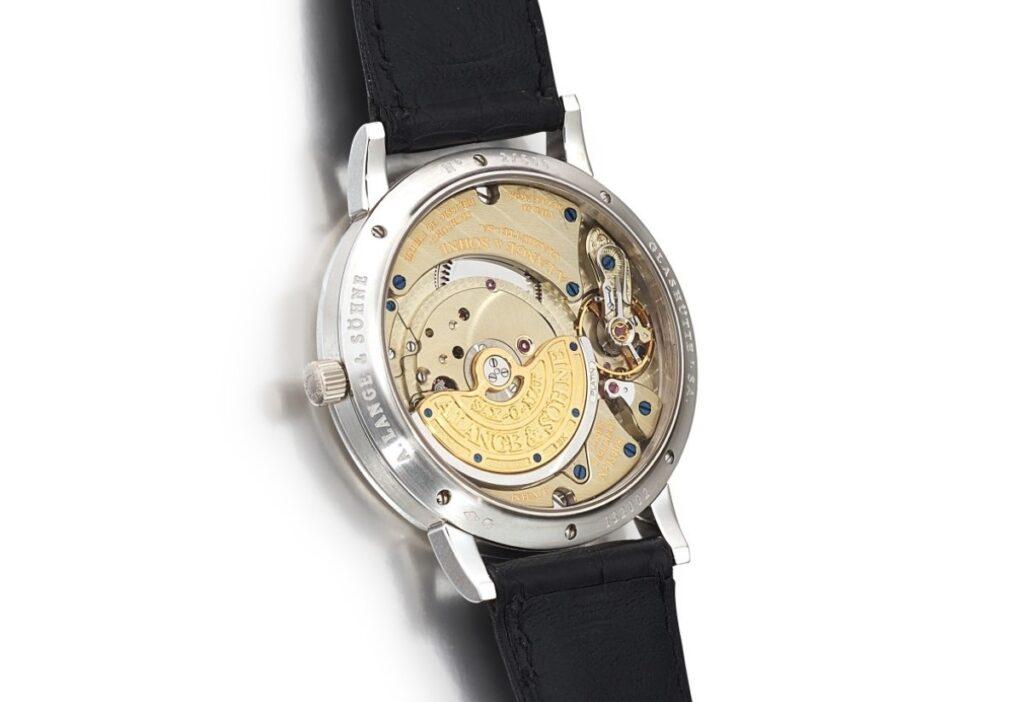 A Lange söhne Langematik movement caliber l922.1 perpetual calendar micro rotor
