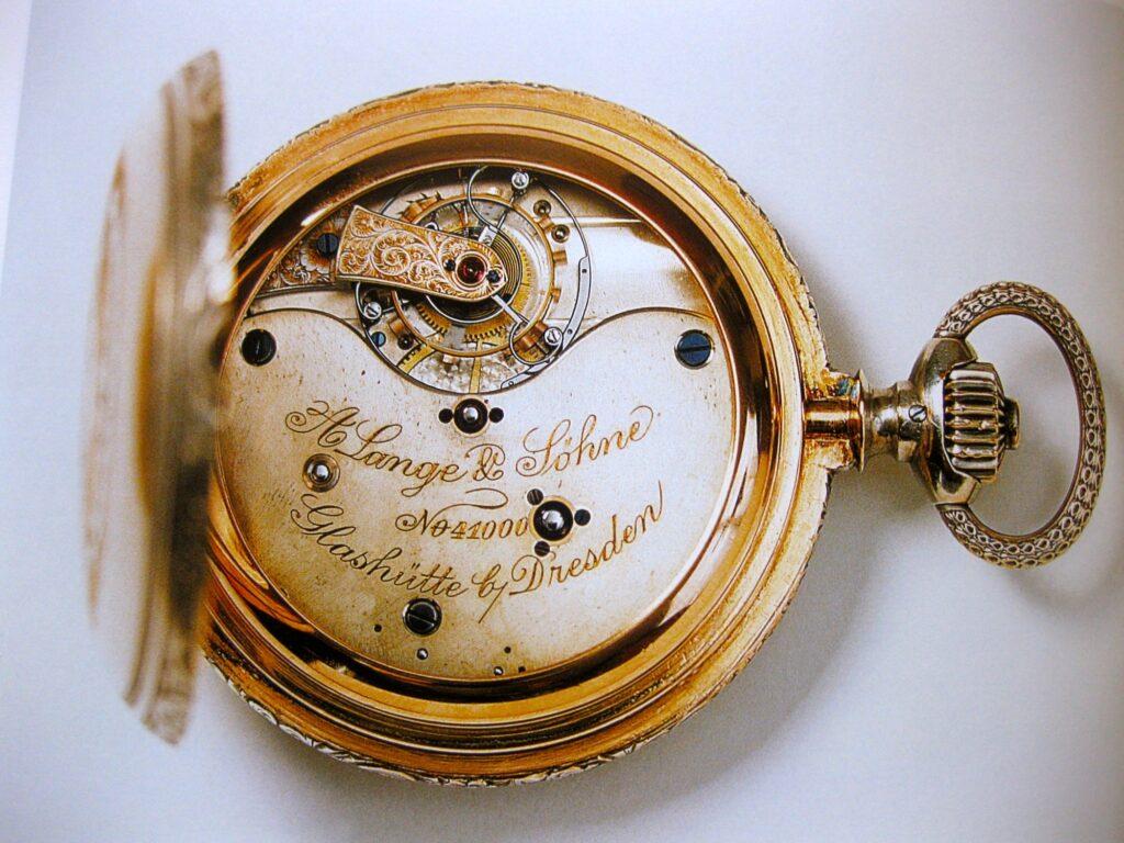 a lange söhne tourbillon pocket watch reference 41000 emil lange paris world exhibition