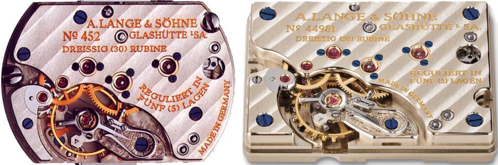 a lange söhne arkade caliber l911 comparison cabaret caliber l931