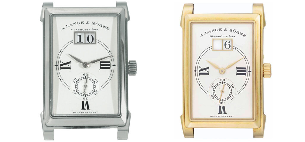 a lange söhne cabaret nota romana collection 107.022 and 107.026