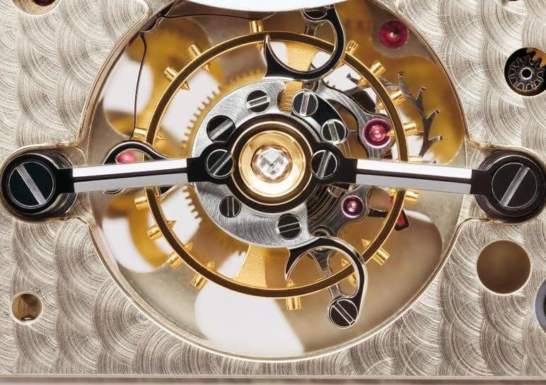 a lange söhne caliber l042.1 tourbillon mechanism and design
