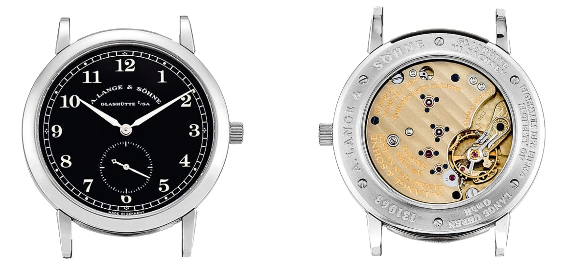 a lange söhne 1815 stainless steel collection