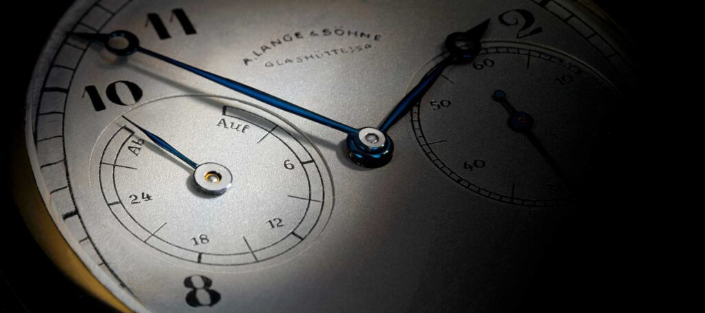 """1815 """"Up Down"""" pocket watch"""