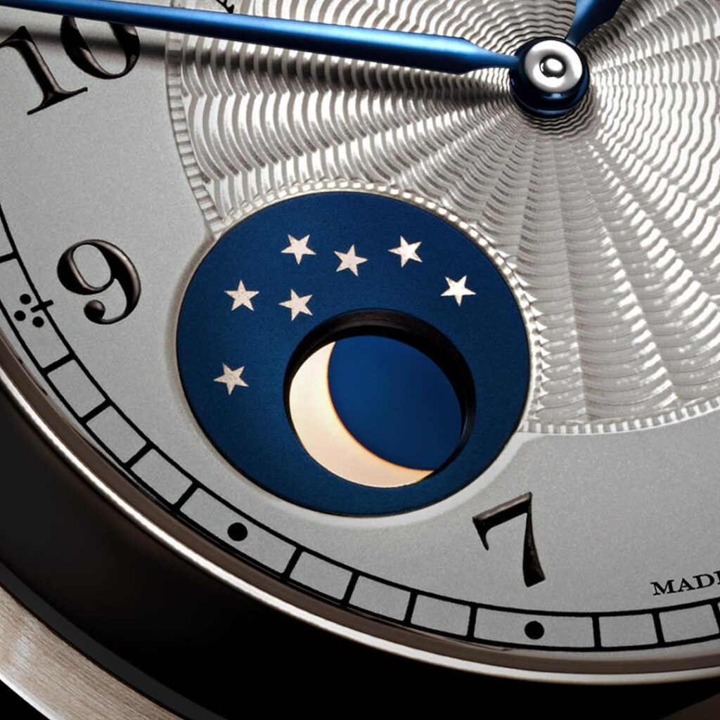 a lange söhne 1815 Moonphase Emil Lange disc