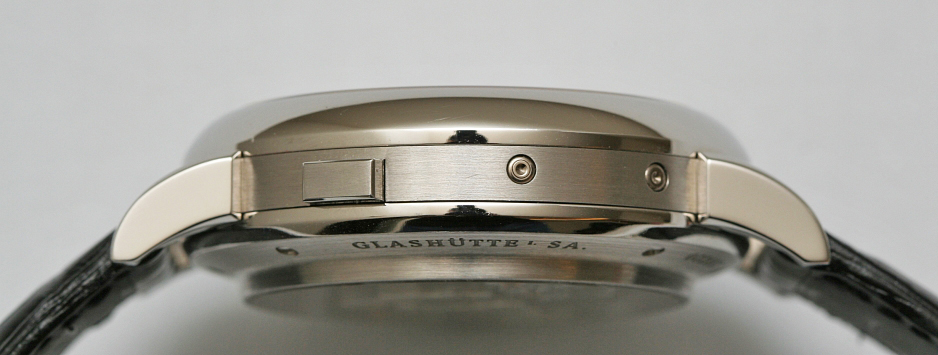 a lange sohne datograph perpetual platinum case
