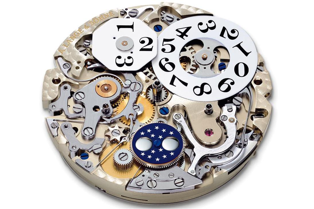 datograph perpetual l952.1 perpetual calendar mechanism