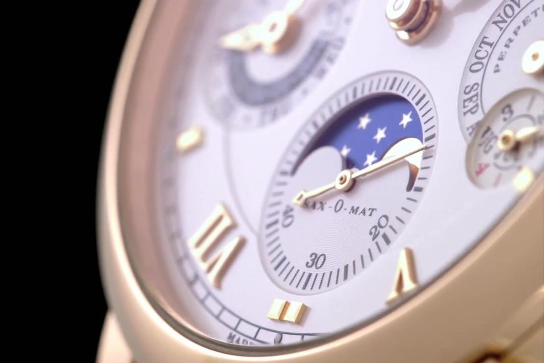 """Langematik """"Perpetual""""   pink gold"""