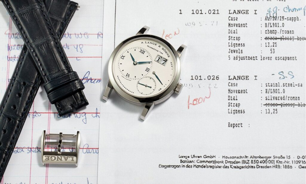 most expensive lange söhne stainless steel lange 1 reference 101.026