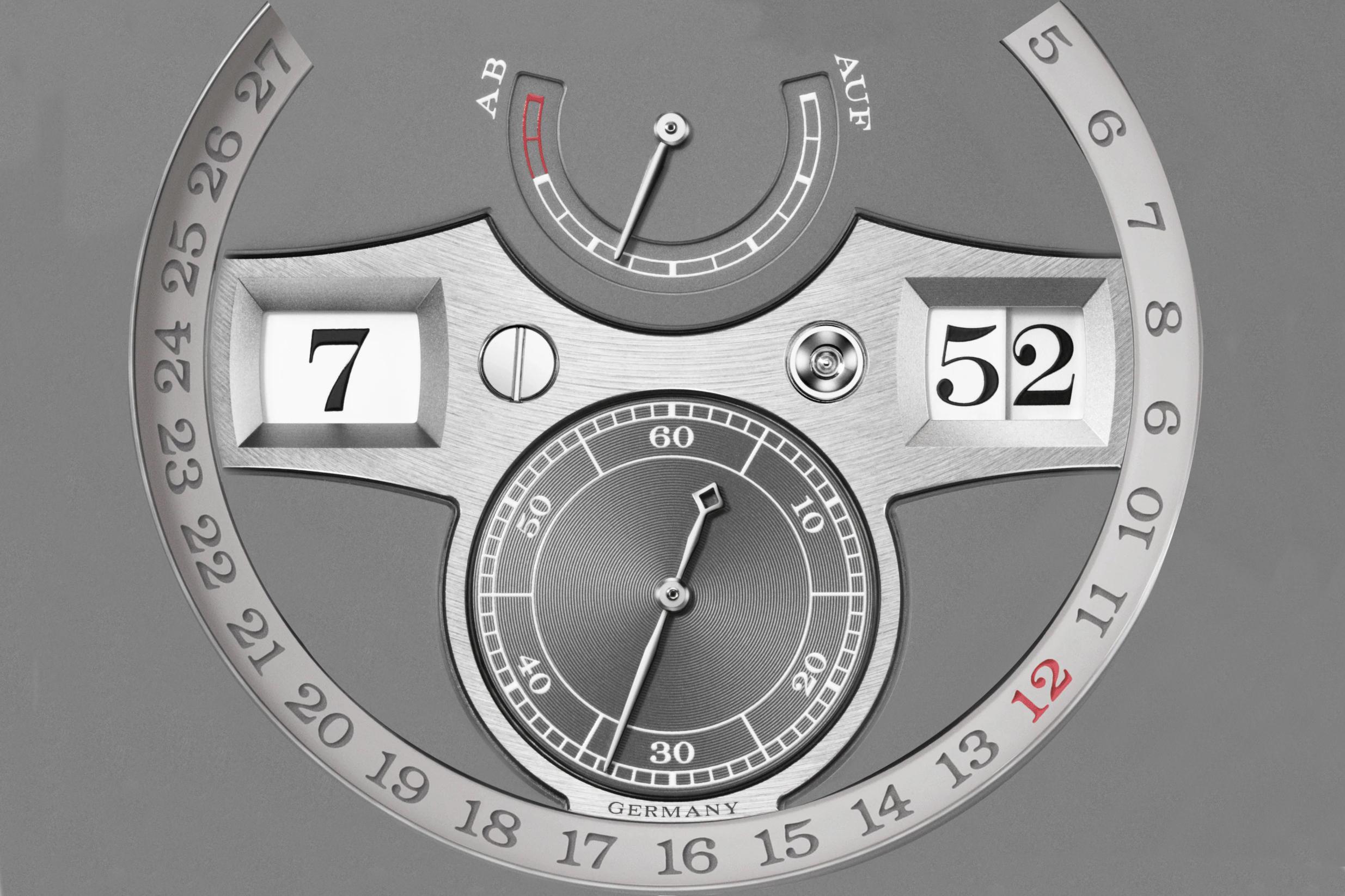 Lange Zeitwerk Date