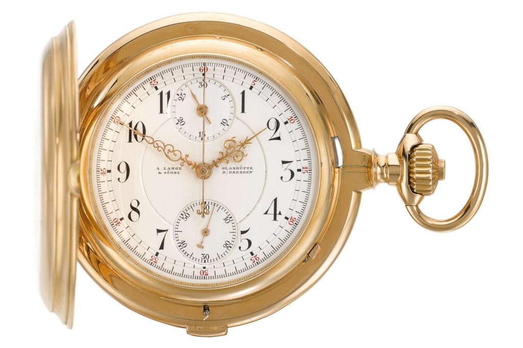 A Lange & Söhne Rattrapante Pocket Watch