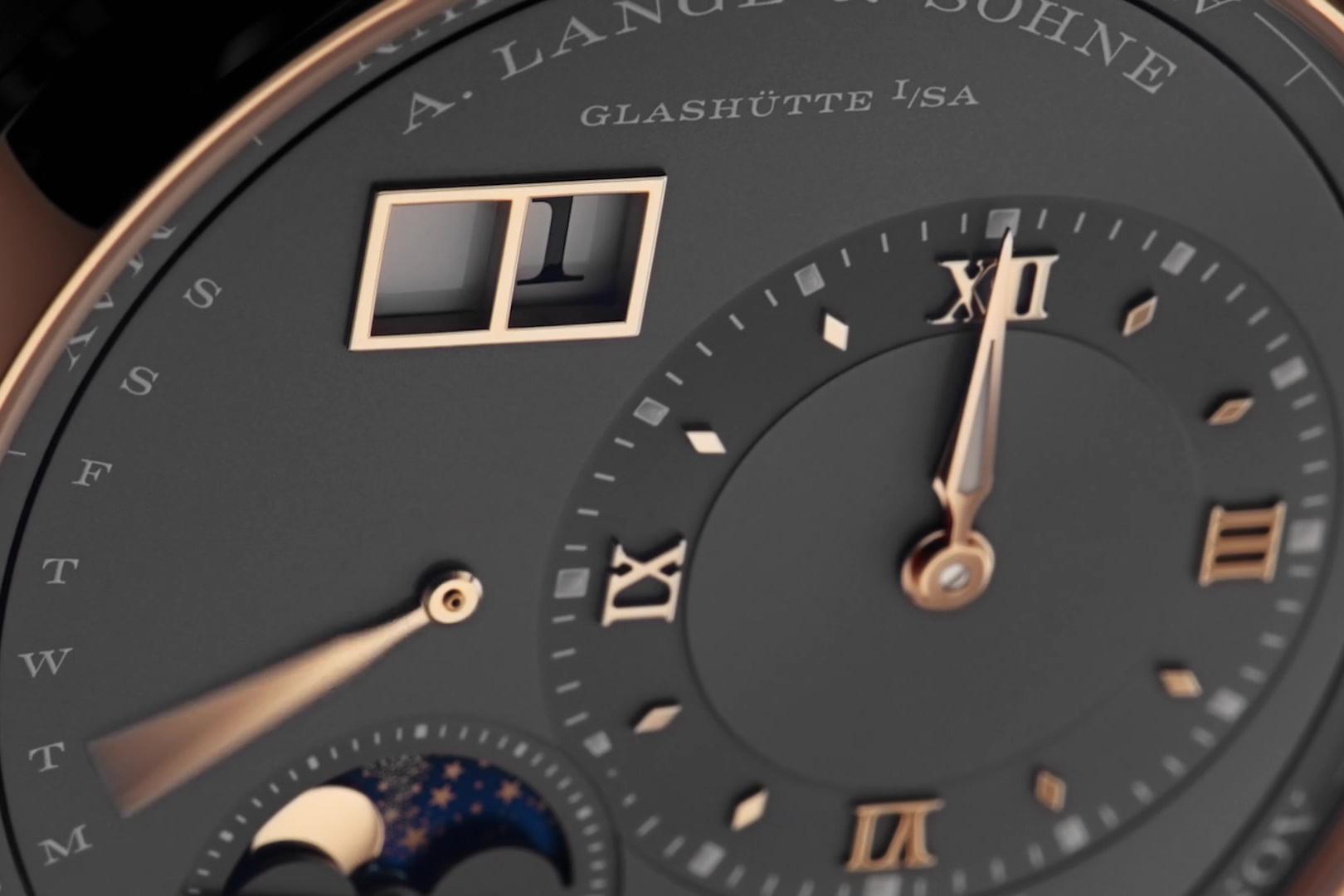"Lange 1 ""Perpetual Calendar"" pink gold 3"