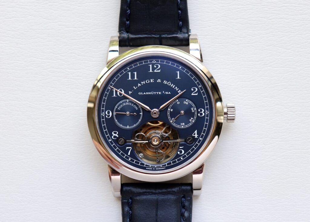Tourbillon Pour le Merite | blue dial