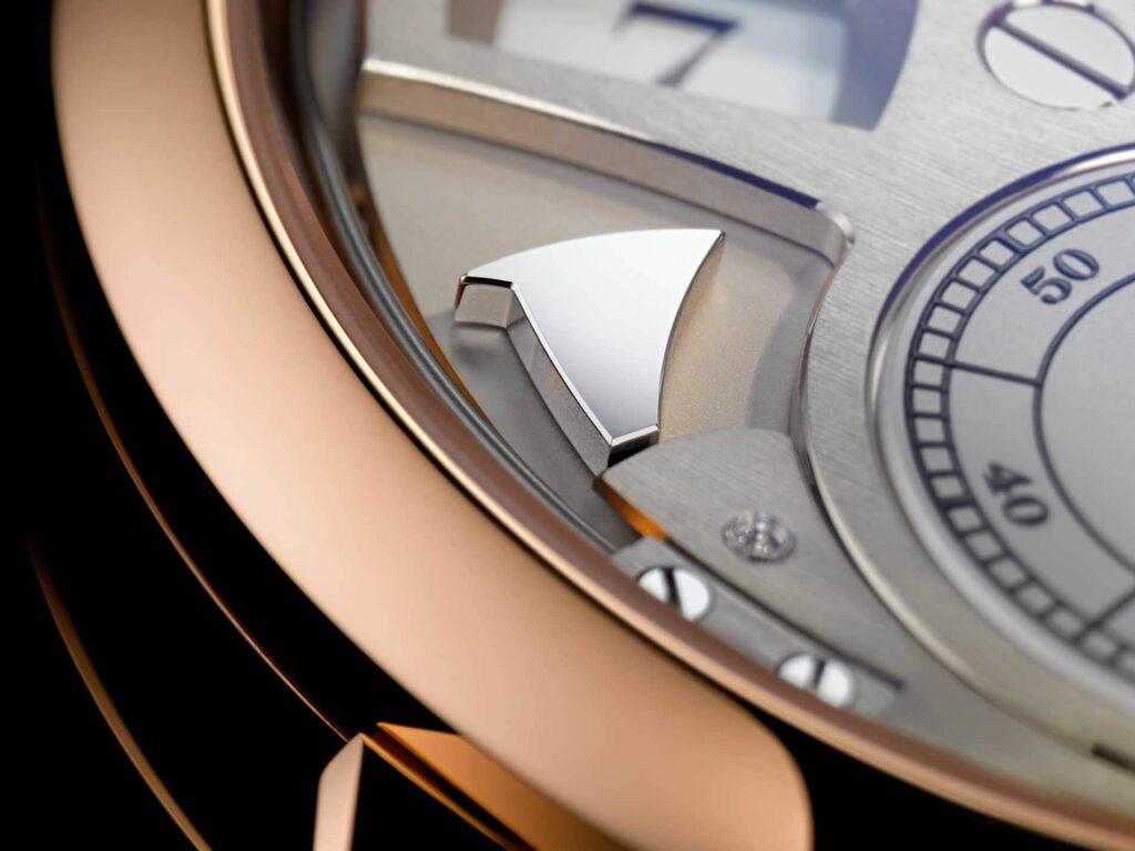 """A Lange Söhne """"Zeitwerk Striking Time"""" pink gold"""