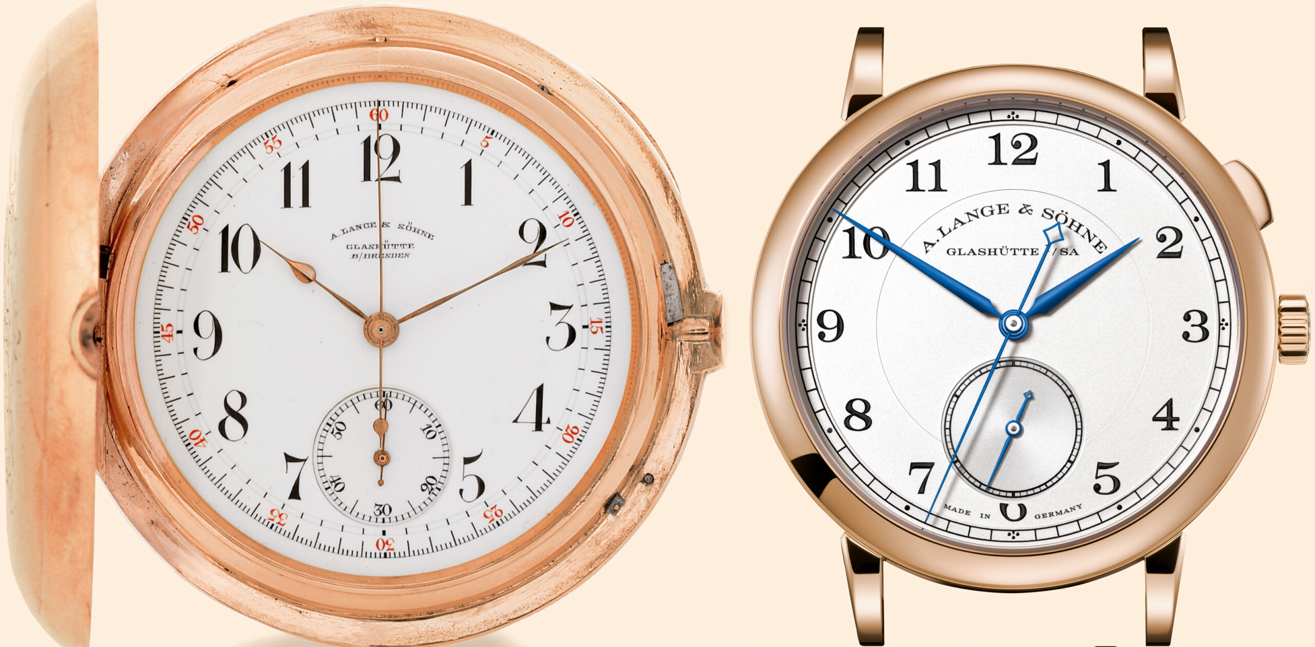 A Lange Söhne 1815 pocket watch and Homage to Walter Lange