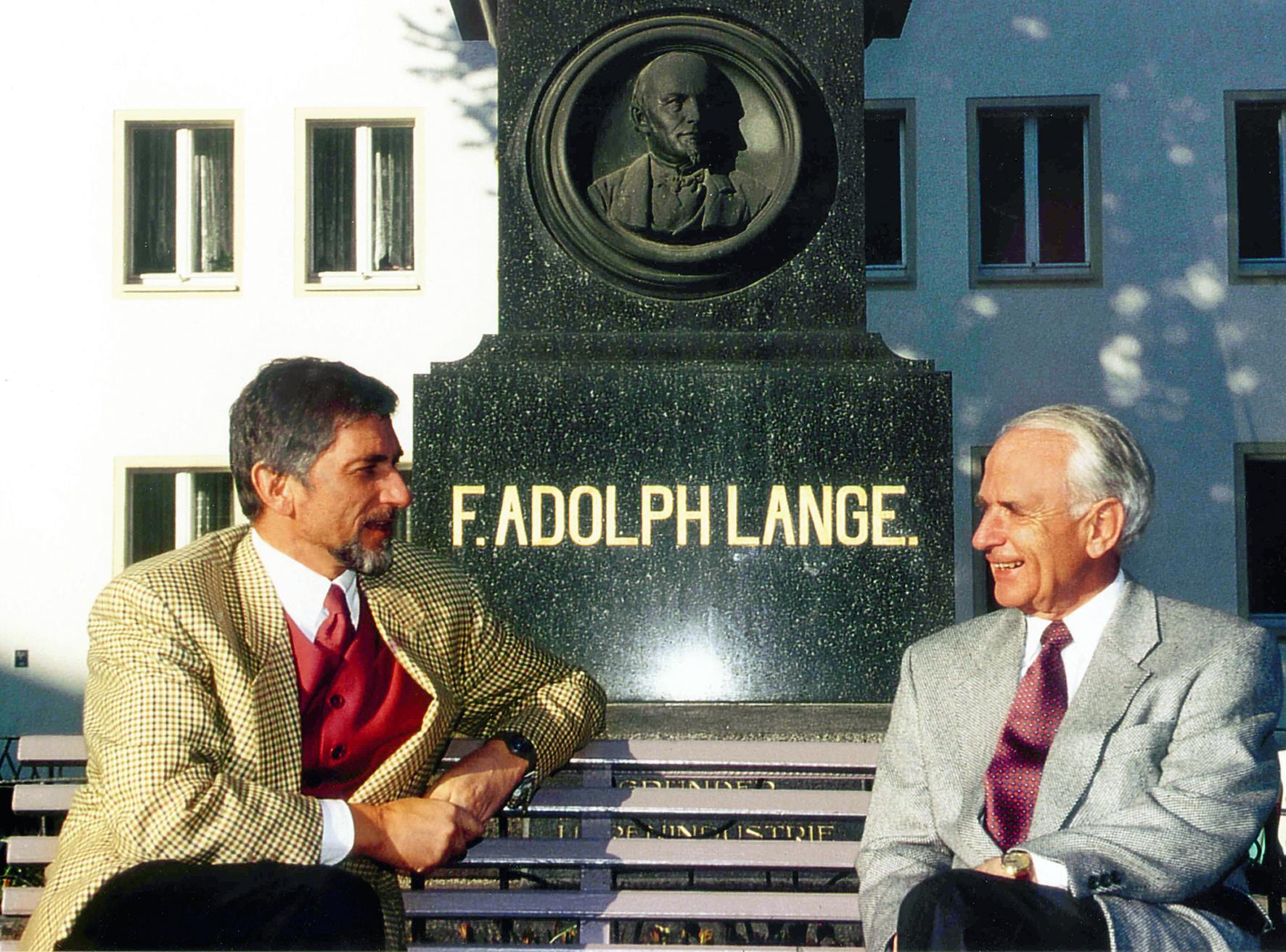 Walter Lange and Günter Blümlein