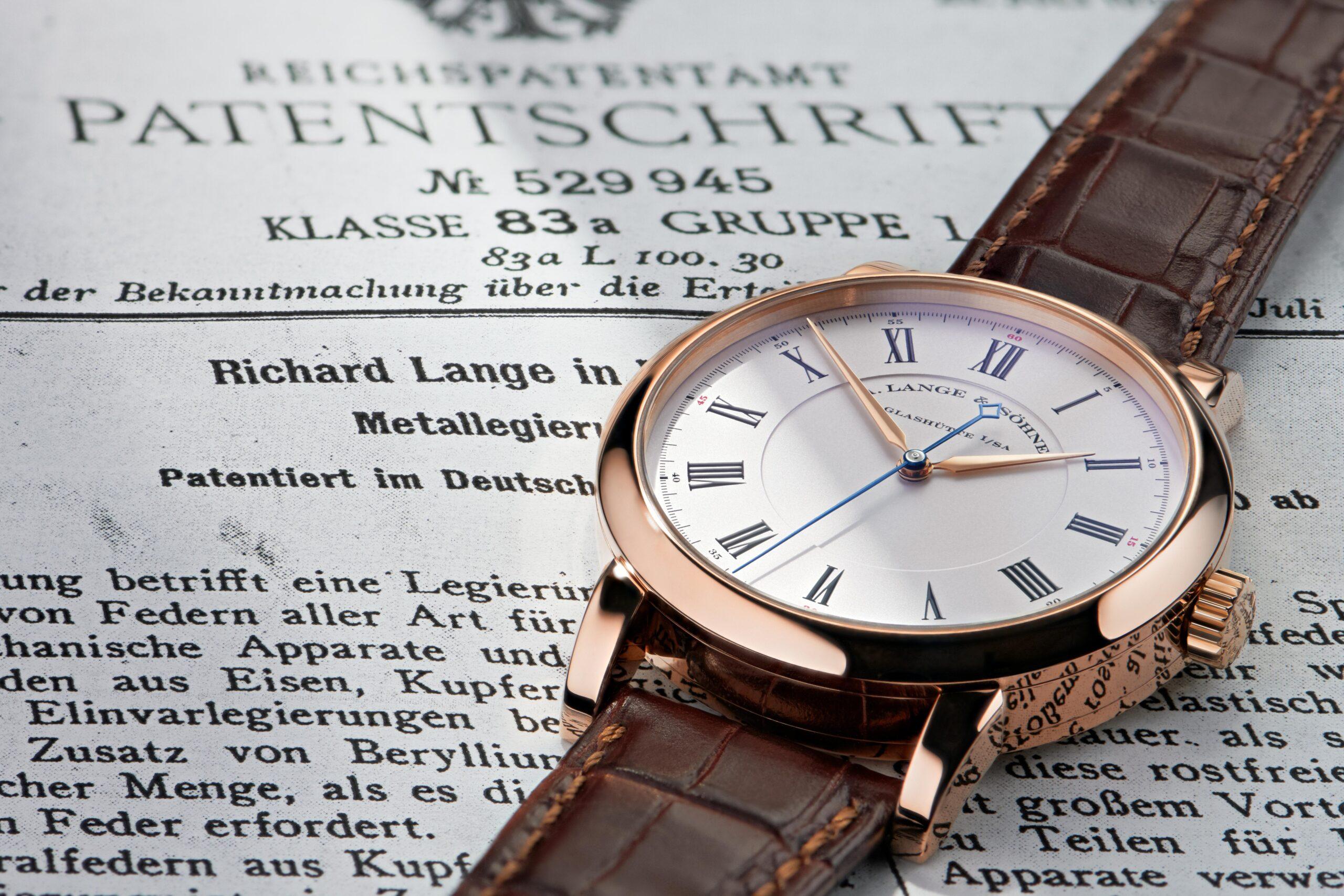 A Lange Sohne Richard Lange | Pink Gold